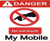 Do not touch my mobile